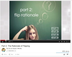 Rationale of flipped